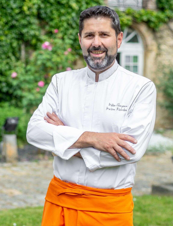 Le chef Didier Chapeau