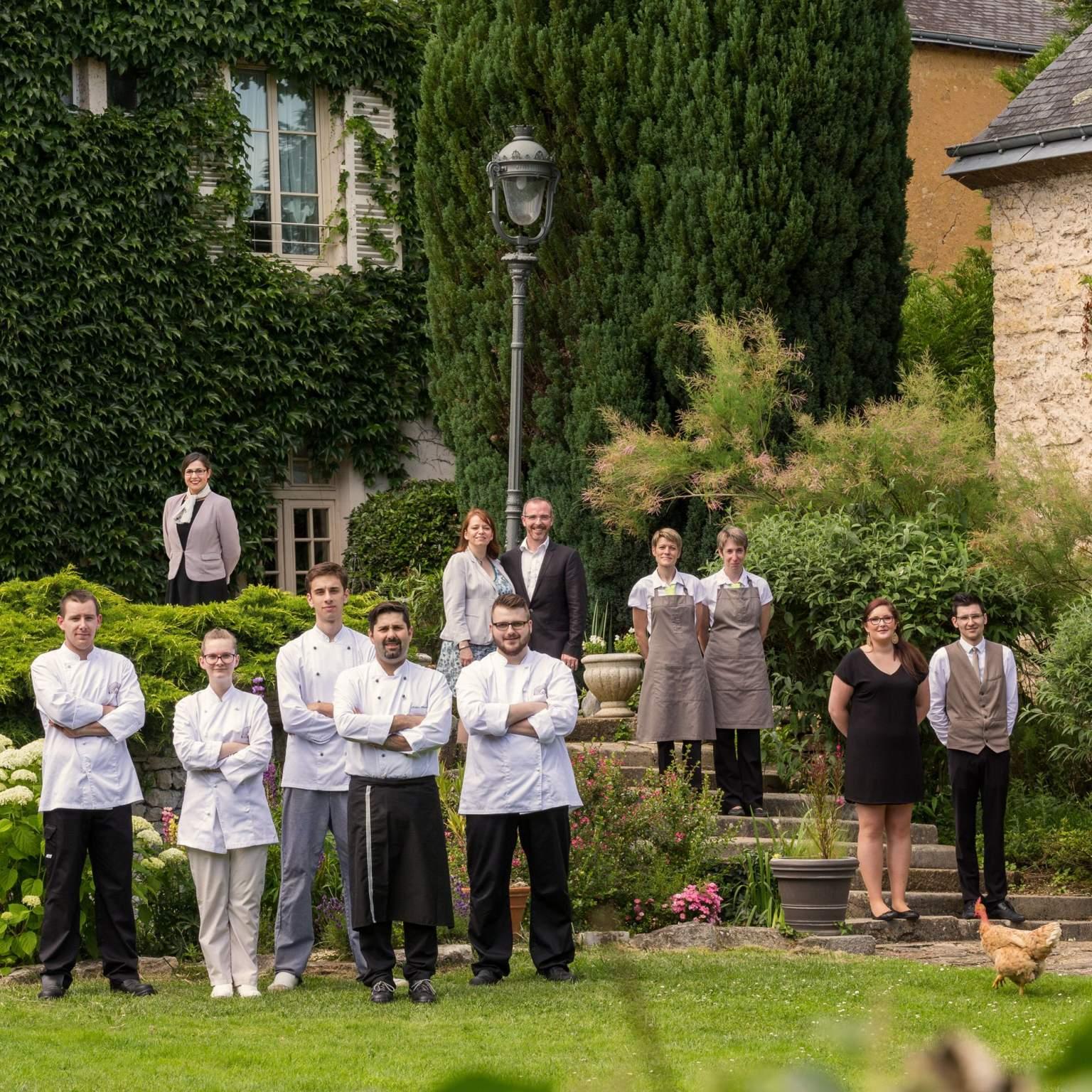 L'équipe de l'hôtel Ricordeau