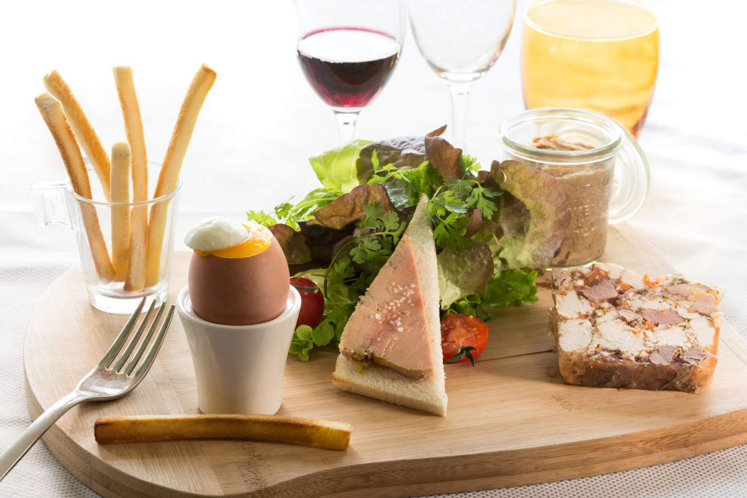 A main course from La Table du Coq