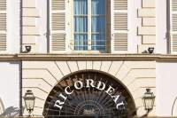 front of the Ricordeau Hotel and Restaurant
